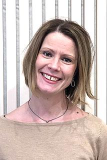 Jill Nordin, körpedagog i S:t Johannes församling