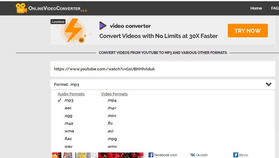 Convert A VIDEO LINK