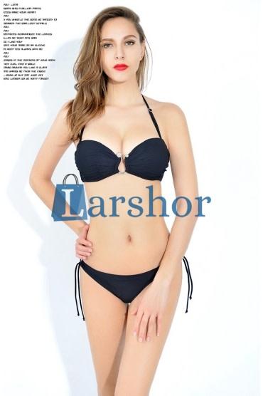 Dames elegant push-up hoge taille bikini zwempakken met beugel