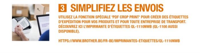 Imprimante d'étiquettes QL-1110NWB