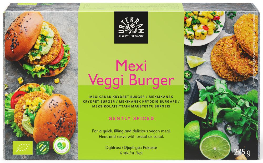 Urtekram Mexi Veggie Burger