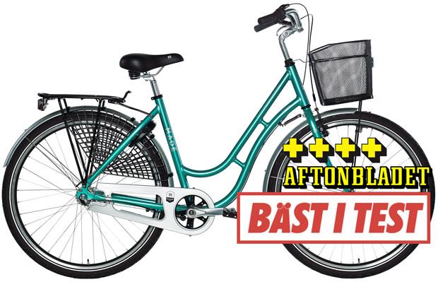 damcykel bäst i test