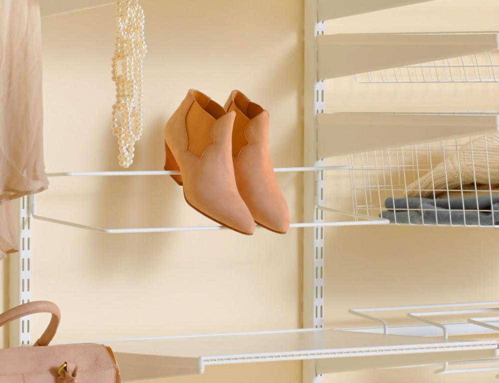 Slik oppbevarer du skoene dine smart | Elfa Norge AS