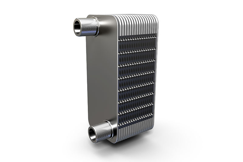 Airec Cross 30 nickel brazed heat exchanger