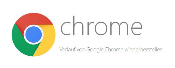 Wiederherstellung der Verlaufsdateien von Chrome