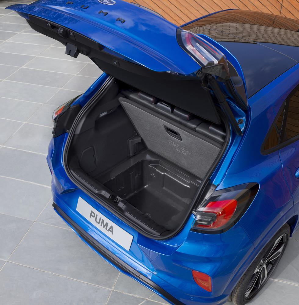 Nye Ford Puma Kompakt Suv Med Mild Hybrid Massasjeseter Og