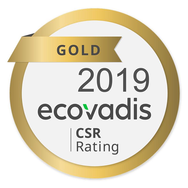 EcoVadis guldmedalj