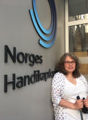 Magnhild Sørbotten, regionleder i Norges Handikapforbund Oslo
