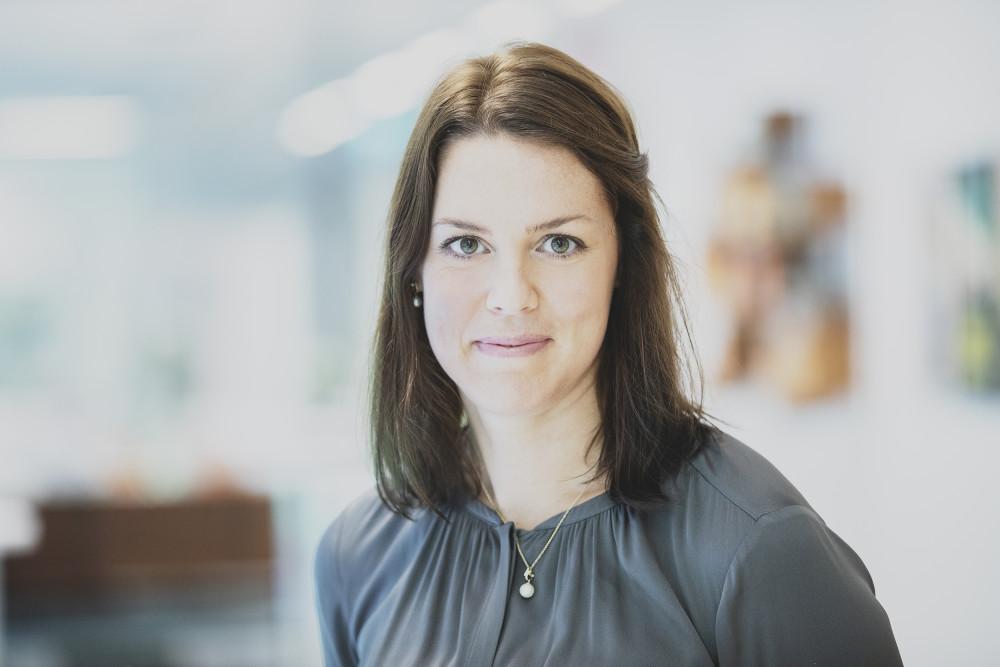 Karin Comstedt Webb, hållbarhetschef Cementa