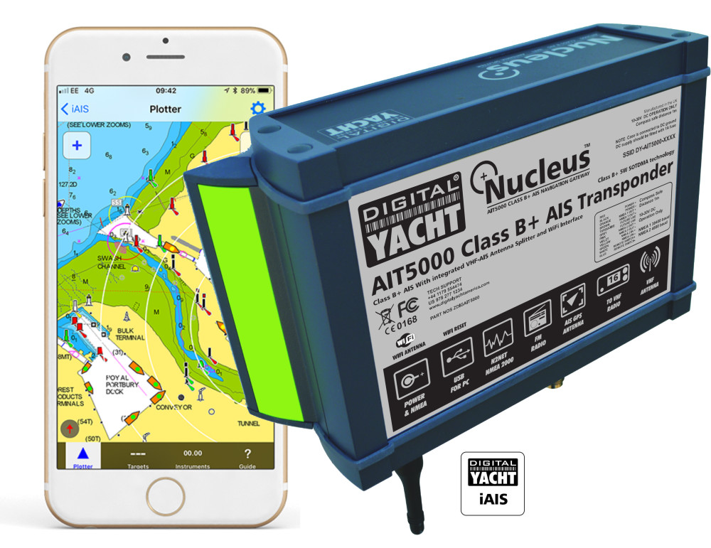 Digital Yacht America Introduce New Range Of Class B+ AIS