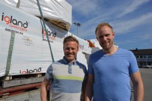 Jan Kristian Benestad og Anders Solstrand