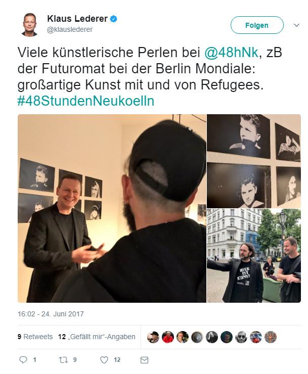 Klaus Lederer Twitter