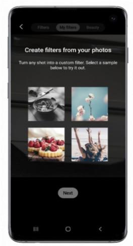 Custom Filter til Galaxy S10