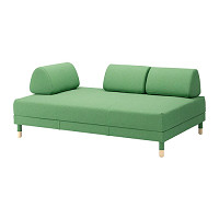 FLOTTEBO  Sofa-bed Lysed green £525