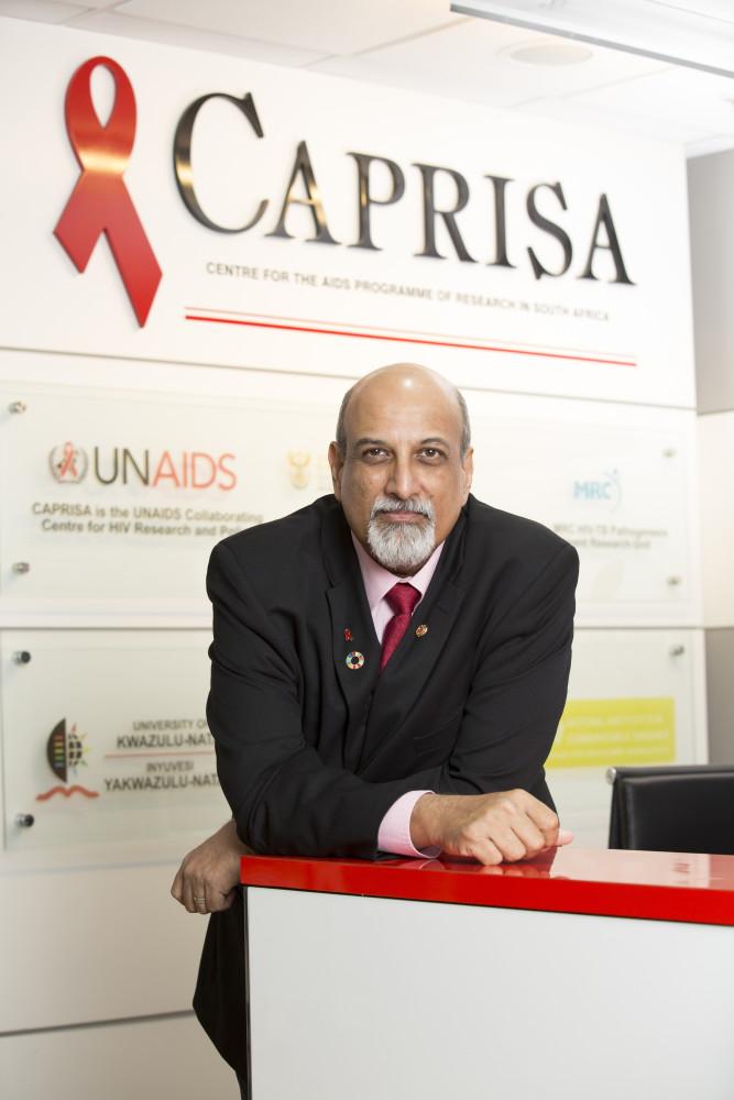 Professor Salim S. Abdool Karim  Director: CAPRISA