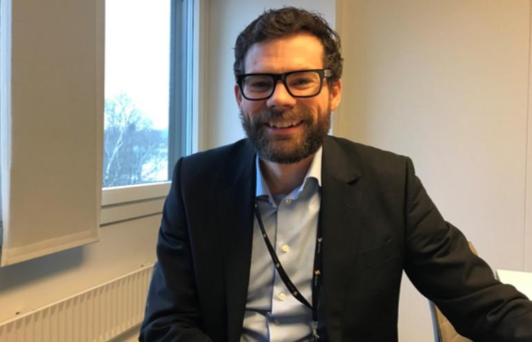 Bjørn Bjune, Prosjektsjef Sporveien Trikken, foto: Sporveien