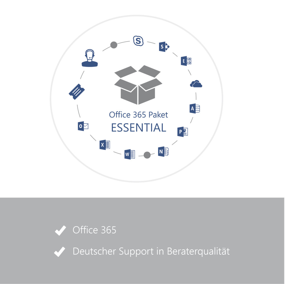 Office 365 Paket ESSENTIAL