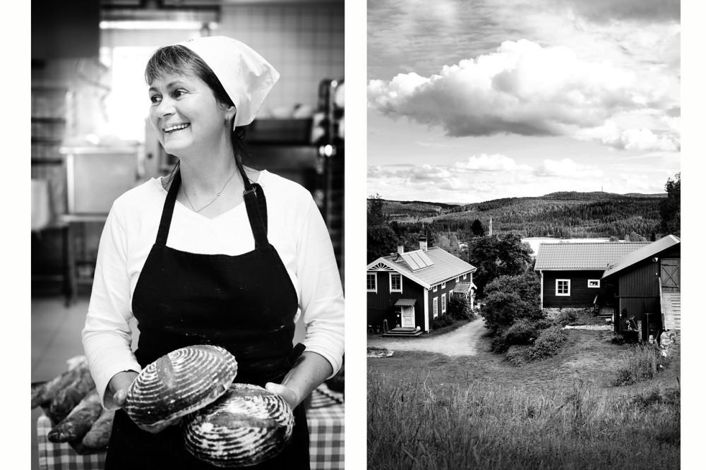 Kerstin Hylén från Bakgården Revsund - Foto © Sandra Lee Pettersson