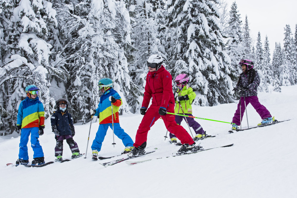 Guidet offpiste for hele familien