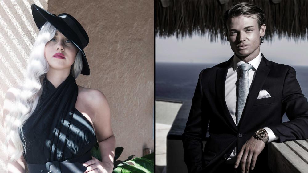Martine Lunde og Aleksander Sæterstøl fra Paradise Hotel treffes på standen til Viafree