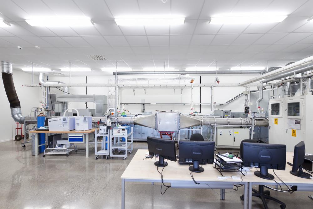 Molecular Test Rig at Camfil Tech Centre, Trosa, Sweden