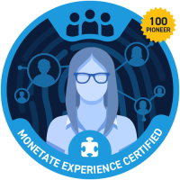 Monetate Experience Certified (Pioneer)