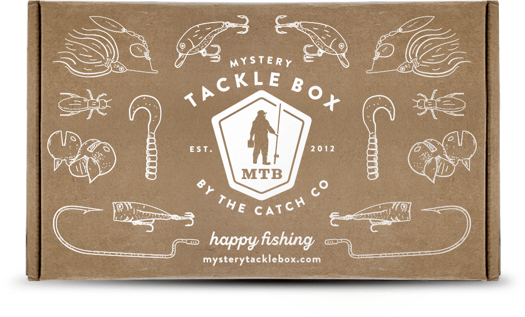 Mystery Tackle Box Monthly Fishing Tackle Bait Subscription Box