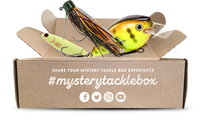 Mystery Tackle Box - Monthly Fishing Tackle & Bait