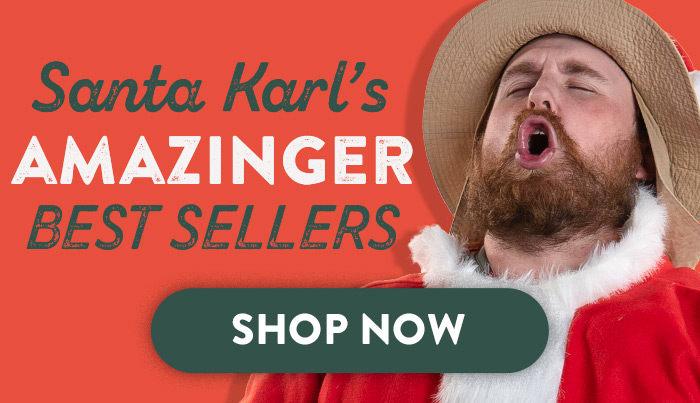 Santa Karl's Best Sellers