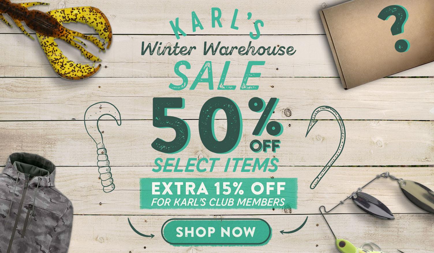 Karl's Winter Warehouse Sale