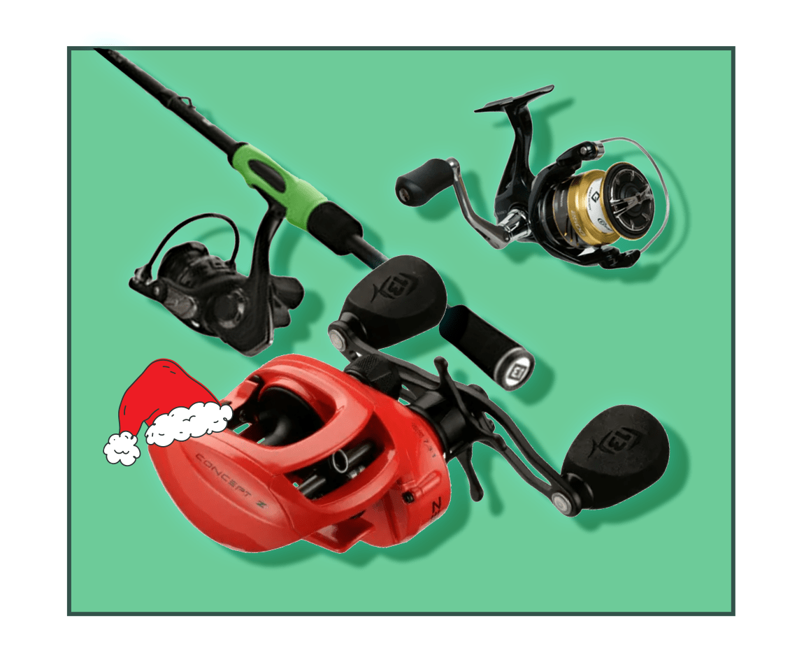 13 Fishing Rod & Reel Combos