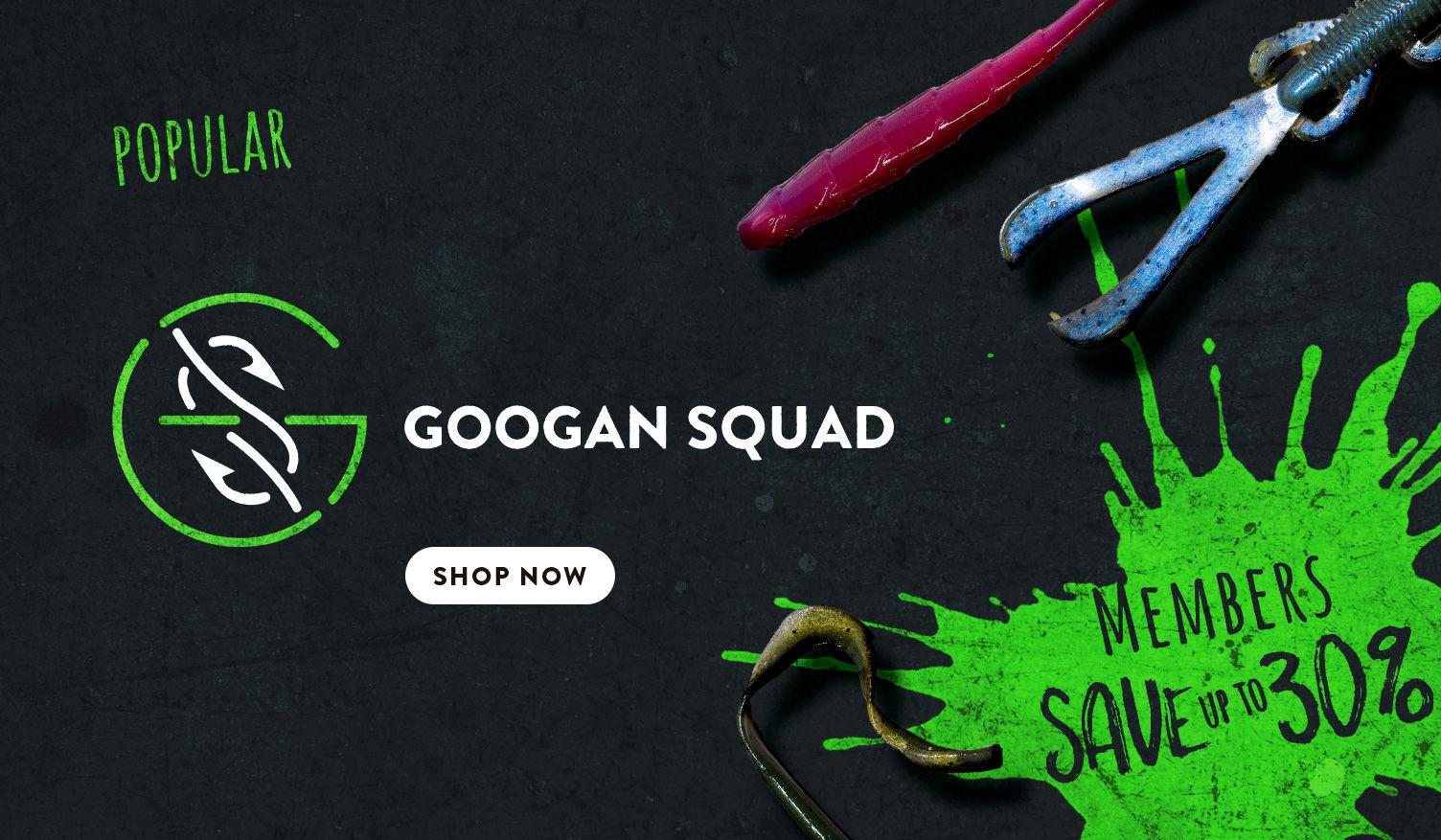 Googan Squad Baits