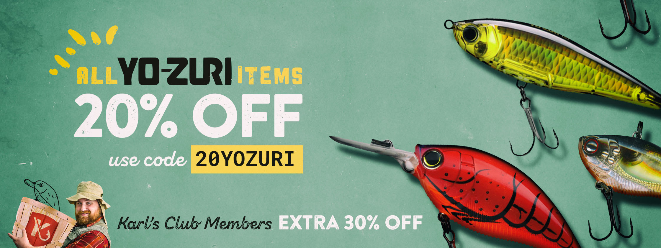 20% off YoZuri Items