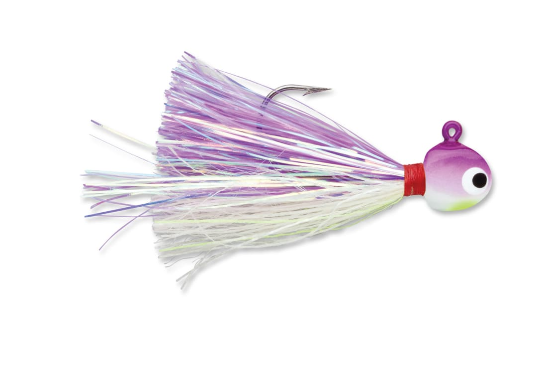 How To Find Walleye - VMC Hot And Glow Jig