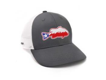 Texas Bass Mesh Snapback Hat