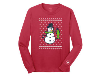 Karl's Bait & Tackle Ugly Fishmas Shirt - Snowman