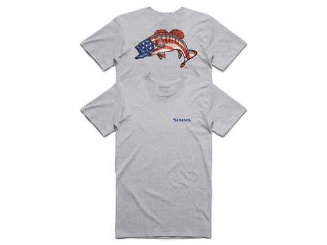 Simms Kennedy Patriotic Bass Tshirt