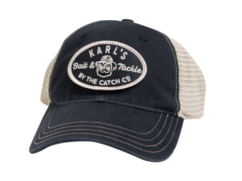 Karl's Bait & Tackle Snapback Hat