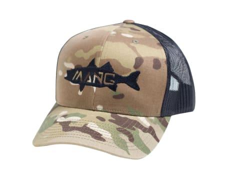 Mang Snapback Multi Camo Snapback Hat
