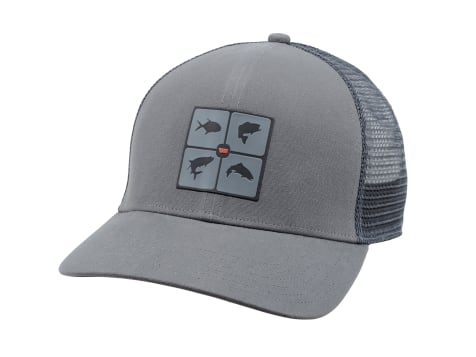 Simms Fish The World Trucker Hat