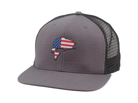 Simms Bass Flag Trucker Hat
