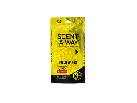 Scent Away MAX Field Wipes