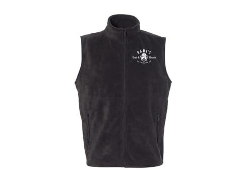Karl's Bait & Tackle Fleece Vest