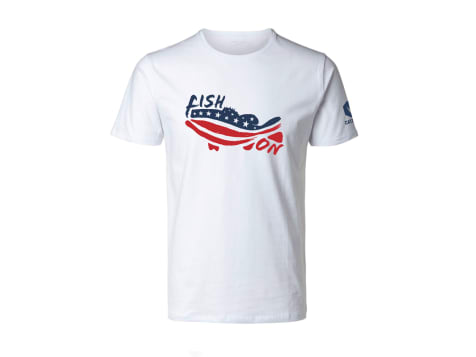 Catch Co. Fish On USA T-shirt