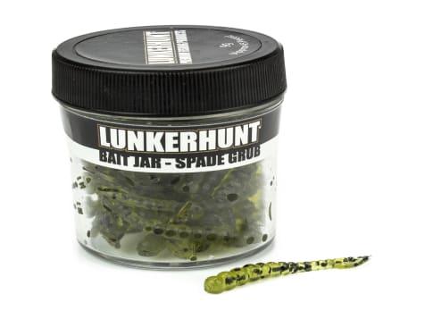 Lunkerhunt Spade Grub - Bait Jar