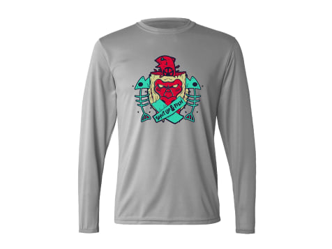 Catch Co. Shut Up & Fish Performance Long Sleeve