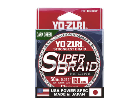 Yo-Zuri Superbraid Fishing Line