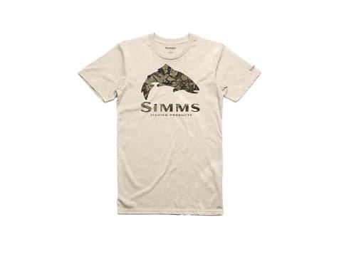 Simms Trout Riparian Camo T-Shirt
