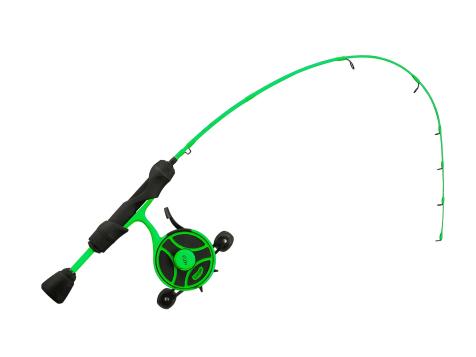 13 Fishing Freefall Ghost Radio Active Pickle Ice Combo