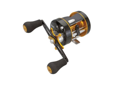Lews Speed Cast Round Baitcasting Reel